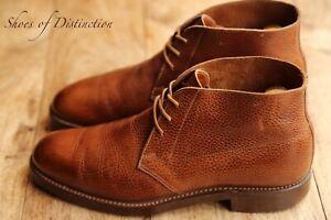 Men's Crockett & Jones for Paul Smith Tan Brown Chukka Boots Shoes UK 7.5 US 8.5