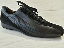 Womens Shoes Sneakers PAUL GREEN Comfort Flat Black nubuck leather size US 8-8,5