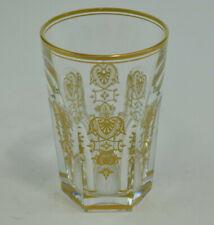 "Beautiful Baccarat Harcourt Empire Crystal Tumbler 4 1/2"" Tall"