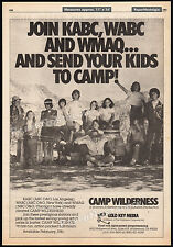 CAMP WILDERNESS__Original 1981 Trade AD / TV series promo / poster__MATT BOSTON