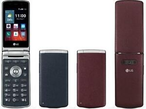 "Original LG Wine Smart 2 H410 1GB RAM 4GB ROM 3.2"" TouchScreen Flip Mobile Phone"