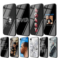 Drake TPU Glass Case for iPhone 8 7 6 6S Plus 5 X XS Max XR 11 Pro Max Cover