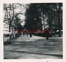 Foto, Polizei Bataillon 255, Hauptstrasse in Oslo 1940, Norwegen (N)1123