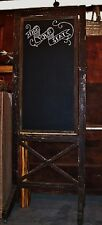 Find Your Seat Rolling Wood and Chalkboard Sign – Perfect for Weddings / Parties