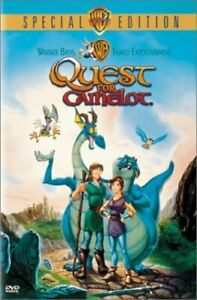 QUEST FOR CAMELOT NEW DVD