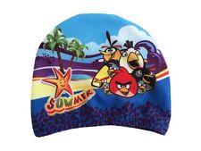 ANGRY BIRDS Swimming Hat Boys Girls Swim Cap UK SELLER Hygiene Caps NEW