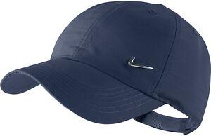 NIKE Basecap METAL SWOOSH Cap blau Hut verstellbare Baseball Kappe Mütze