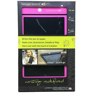 Boogie Board 8.5-Inch LCD Writing Tablet Pink eWriter PT01085PNKA0002
