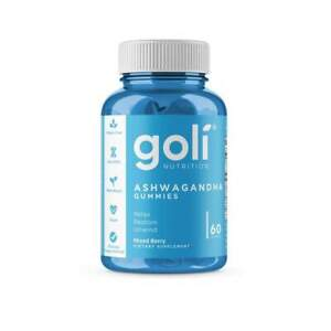 NEW Goli Ashwagandha Ashwa Gummies + Vitamin D2 Keep Calm Relax De-Stress