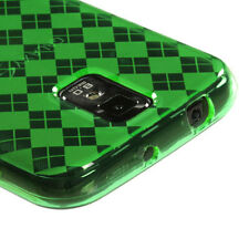 T-MOBILE SAMSUNG GALAXY S2 T989 TPU CANDY SKIN CASE GREEN