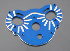 Traxxas E-Maxx Custom Blue Anodized Aluminum Motor Plate for Extra Cooling 3990X