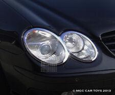 Mercedes SL 2002-2008 Headlight Chrome Trim Upgrd (One Pair)