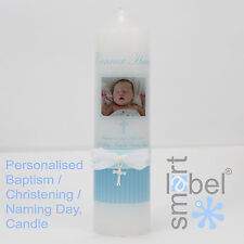 Personalised Christening, Baptism, Naming Day Candle 10
