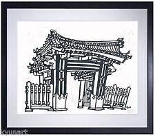 Listed Japanese Artist MIKUMO, Original Signed Wood Block Print
