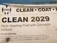CLEAN 2029 PARTS WASHING FLUID WITH CORROSION INHIBITOR 55 GAL DRUM