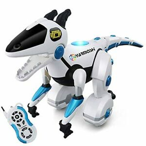 YARMOSHI Interactive Dinosaur Robot w/ Remote Control and USB Charger-Touch Sens