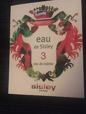 SISLEY EAU DE SISLEY 3 Eau de Toilette 1.4 ml Duft Probe NEU