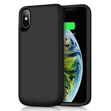 For Apple iPhone XS Max 6.5'' Power Bank battery Charger Case Cover 6000mAh