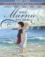 When Marnie Was There Blu-ray + DVD Brand New Factory Sealed Free Fast Shipping!