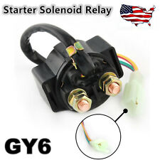 New Starter Solenoid Relay For GY6 50cc 150cc Chinese Scooters ATVs & Go Karts