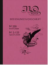 ILO M 250 2-125 Motor Bedienungsanleitung Handbuch Betriebsanleitung M250 Manual