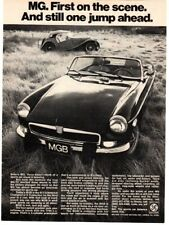 1974 MGB full page ad - Motor Trend, July 1977, VG+ cond.