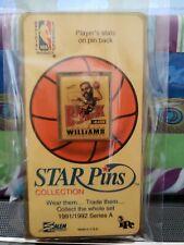 NBA STAR Pins 1991-1992 Series A  Buck Williams Portland Trailblazers Blazers