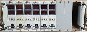 KEPCO RA 55, WITH 6 MST 25-8M POWER SUPPLIES
