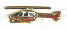 1996 ATLANTA SUMMER OLYMPIC HELICOPTER PIN FOR COCA COLA SCARCE