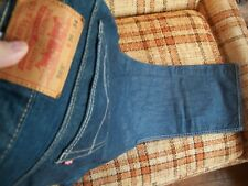 Levis Mens Size 36x34 (Actual 36x32) 569 Loose Straight Jeans 100% Cotton
