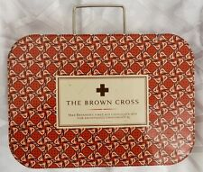 THE BROWN CROSS Max Brenner's First Aid Chocolate Tin Box Case Nursing Bag