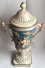 Grand Capodimonte vase