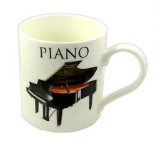 Piano Mug - Music Themed Gift - Musical Mug - Gift for Pianist - Piano Student