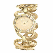 WOMEN'S JUST CAVALLI SINUOUS ANALOGUE WATCH R7253577501 - 60% OFF RRP £230