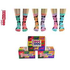 HOT DOG Sei donna calzini spaiati da United Oddsocks (UK 4-8)