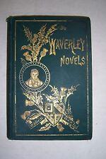 WAVERLEY NOVELS By Walter Scott. VOL. 9, Peveril of Peak, Redgauntlet, Betrothed