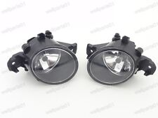 1Pair Front Fog Light Lamps w/Bulbs For Nissan Sentra 2013-2015