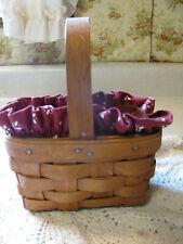 Longaberger Sugar & Spice Booking Basket