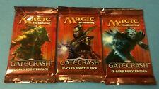 3x Gatecrash SEALED Booster Packs MtG Draft Pack Magic the Gathering Cards