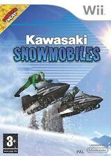 Kawasaki Snow Mobiles Nintendo WII Video Game Original UK Release