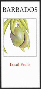 Barbados 1997 Local Fruits Brochure