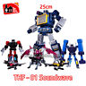 "THF-01 Soundwave G1 laser Bird Tape Cassette 10"" Action Figure Kids Toy In Stock"