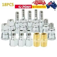 18X Air Hose Fittings Nitto Type Male Coupler Compressor Couplings Air Tools