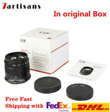7artisans 35mm F0.95 Prime Fixed Lens For Sony E EOS-M M 4/3 M43 Nikon Z Fuji X