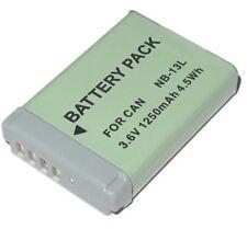 Battery NB-13l NB13L Canon PowerShot Sx720 N100 G5x G7X G9X- 1 Year Warranty