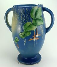 ROSEVILLE BLUE FUSCHIA VASE   Blue  905-10  10 1/2""