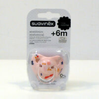 SUAVINEX SOOTHER ANATOMICAL TEAT LATEX PACIFIER DUMMY A6A +6M