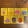 BTS BT21 Official Authentic Goods Epoxy Sticker Snack Ver 7SET 85x105mm + Track#