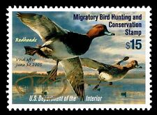 RW71  FEDERAL DUCK STAMP SIGNED IN GOLD PEN BY ARTIST SCOT STORM - OGNH