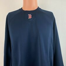 Majestic Authentic Boston Red Sox Therma Base Sweatshirt MLB Baseball Sewn L